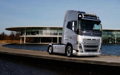 Volvo Trucks official supplier McLaren-Honda F1