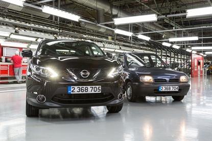 Nissan Qashqai: record di produzione