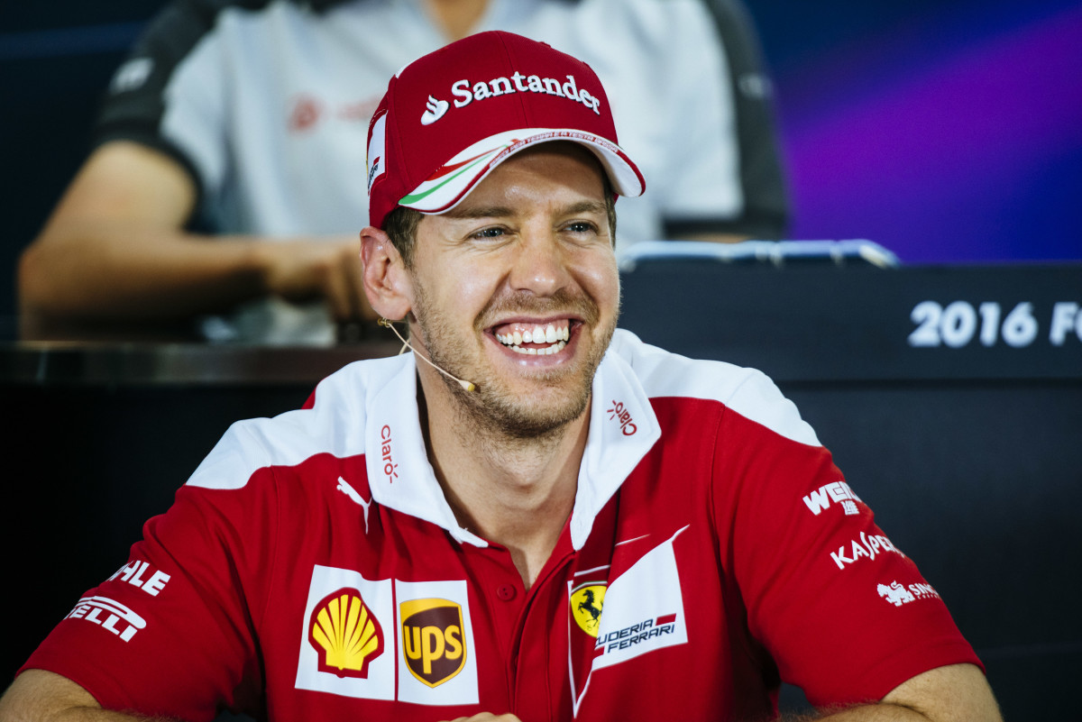Vettel tra i protagonisti della conferenza stampa