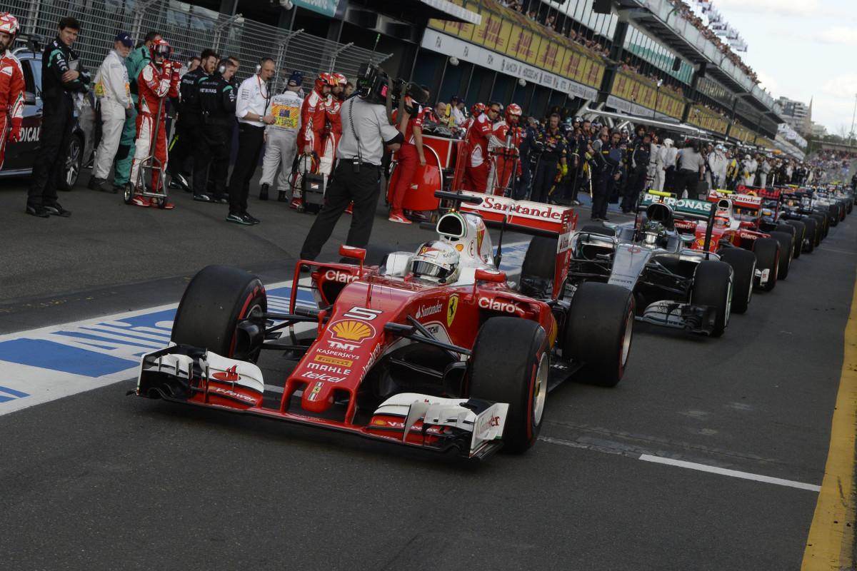 ripartenza GP AUSTRALIA F1/2016