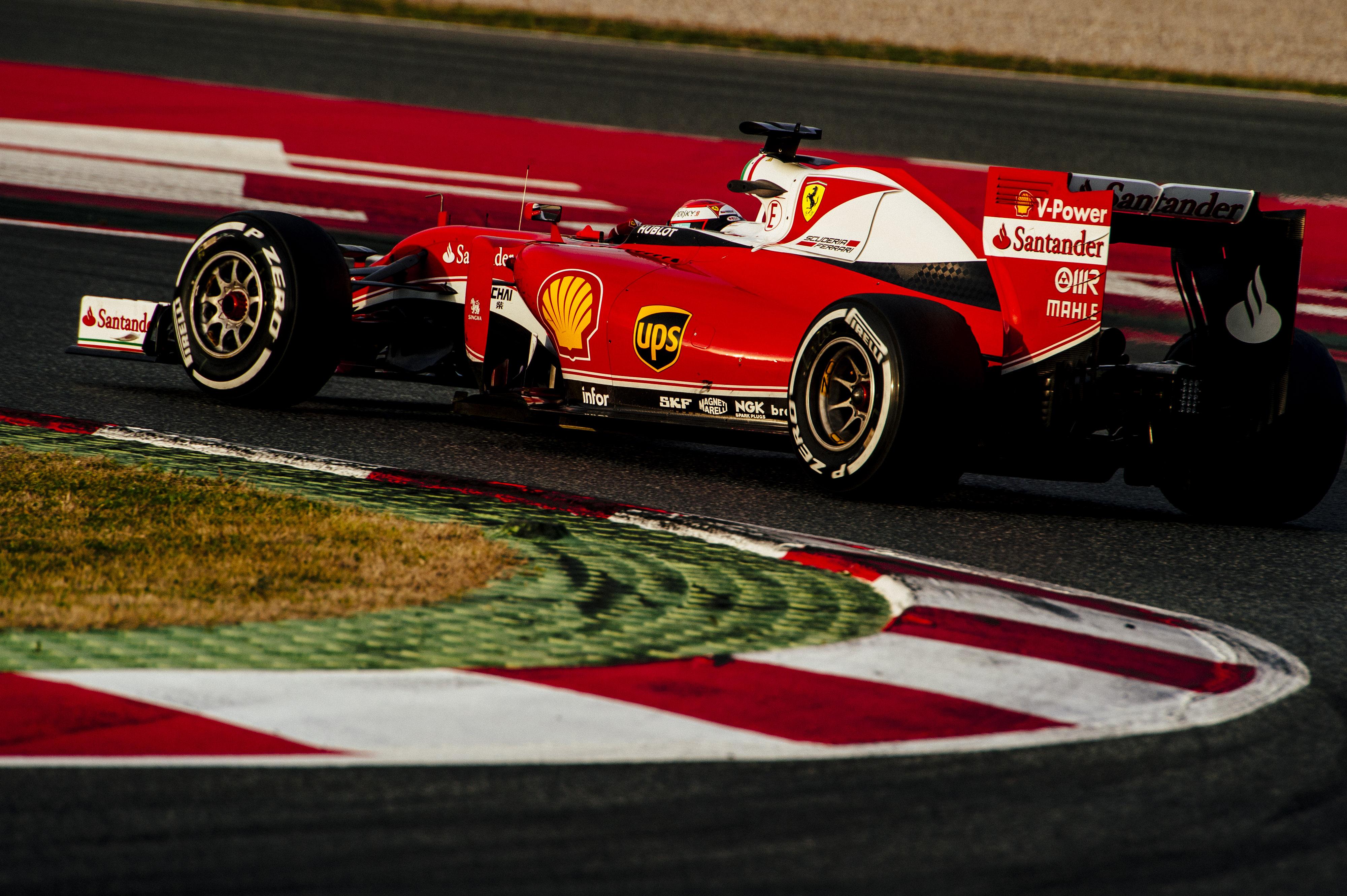 Ferrari: ripresa dei test con Raikkonen