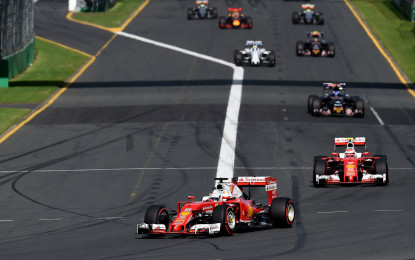 Australia: 3° posizione per Vettel, ritiro per Kimi