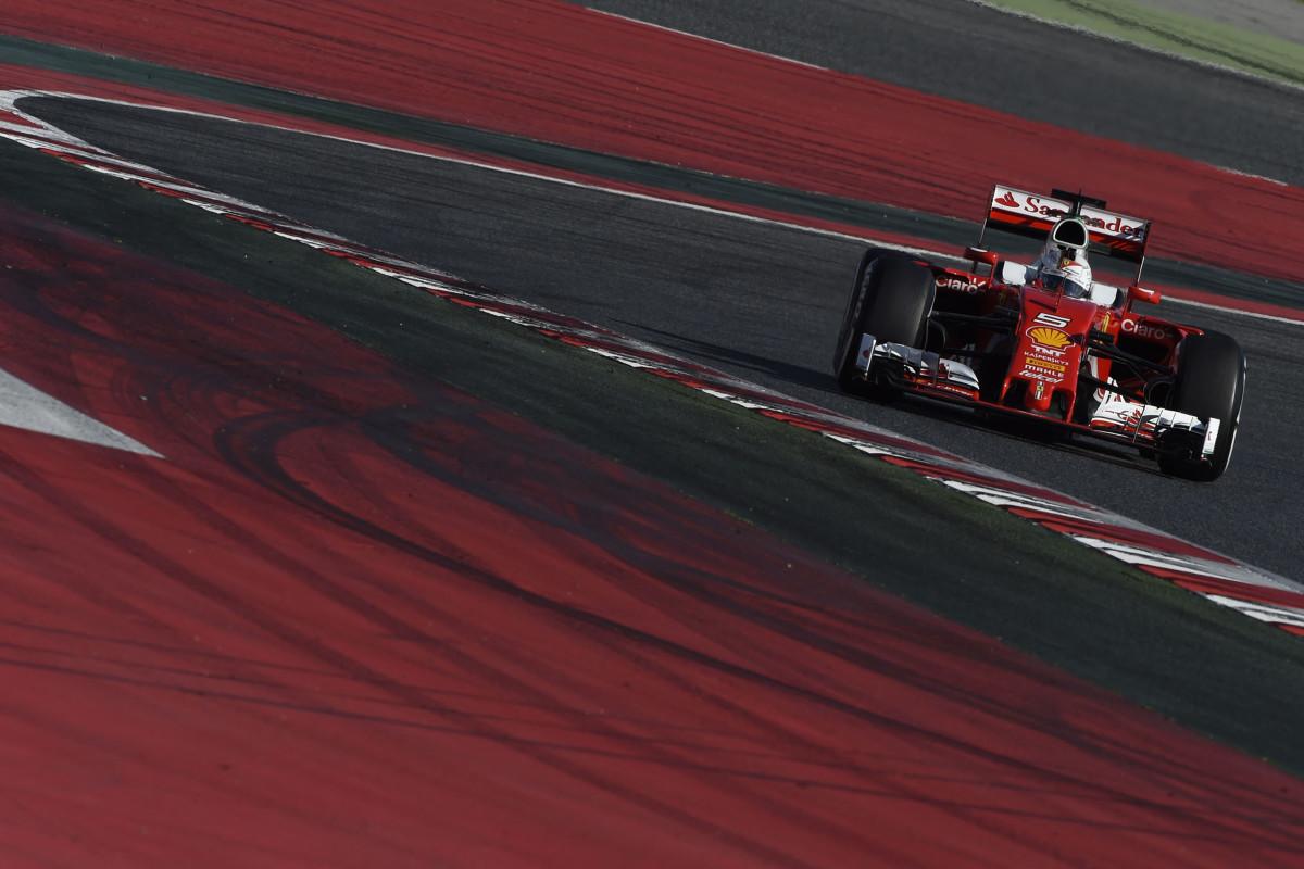 Maratona di 142 giri per Vettel e la Scuderia