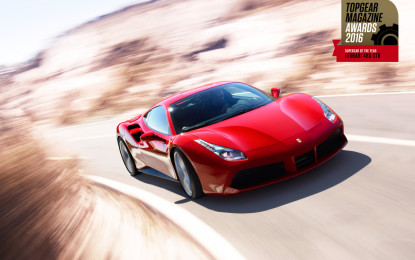 Ferrari premiata da Top Gear