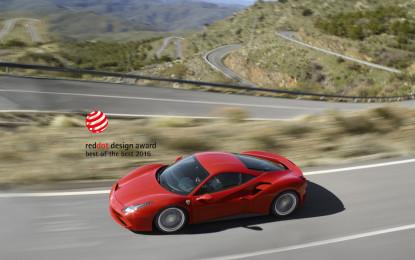 La 488 GTB vince il premio Red Dot