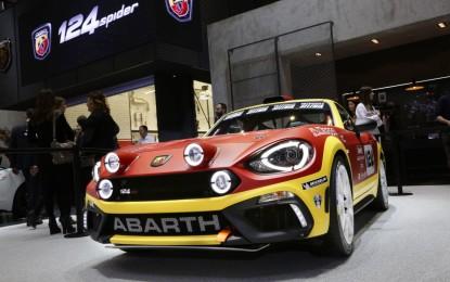 Abarth 124 rally: debutto a sorpresa