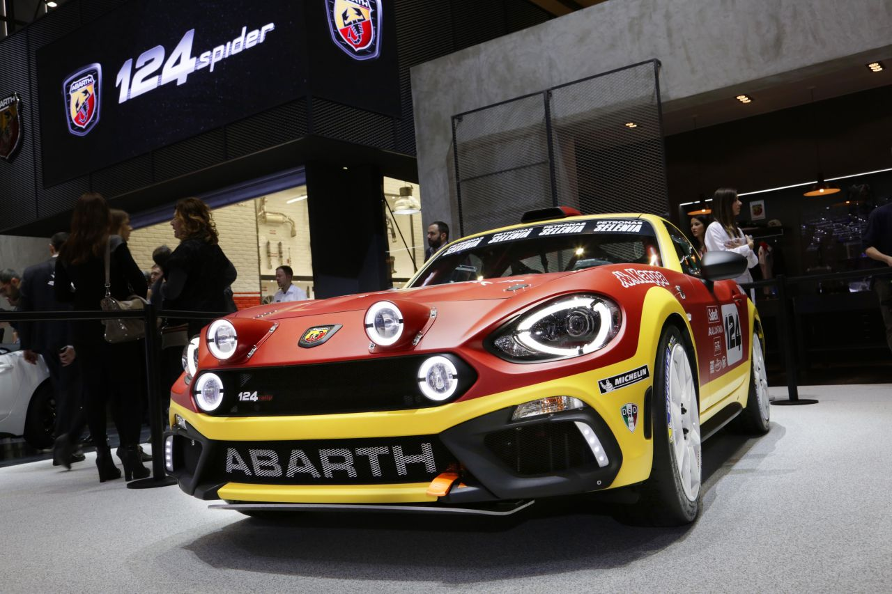 Abarth 124 rally: debutto a sorpresa