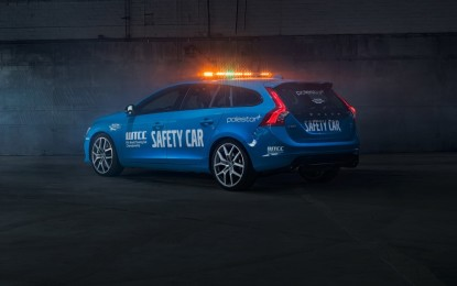 Volvo V60 Polestar safety car del WTCC