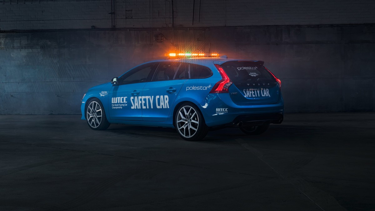Volvo V60 Polestar safety car del WTCC