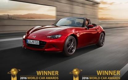 Altri due premi per Mazda MX-5