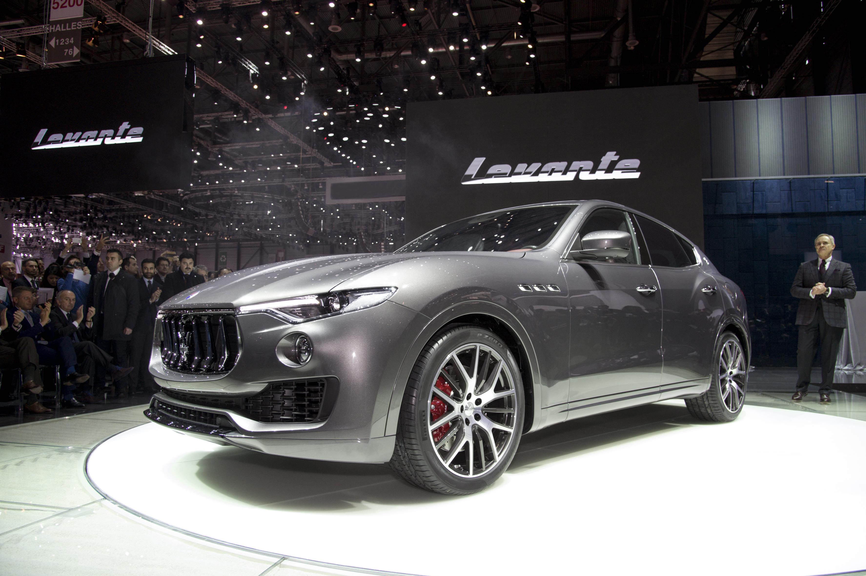 Levante, la grande novità Maserati
