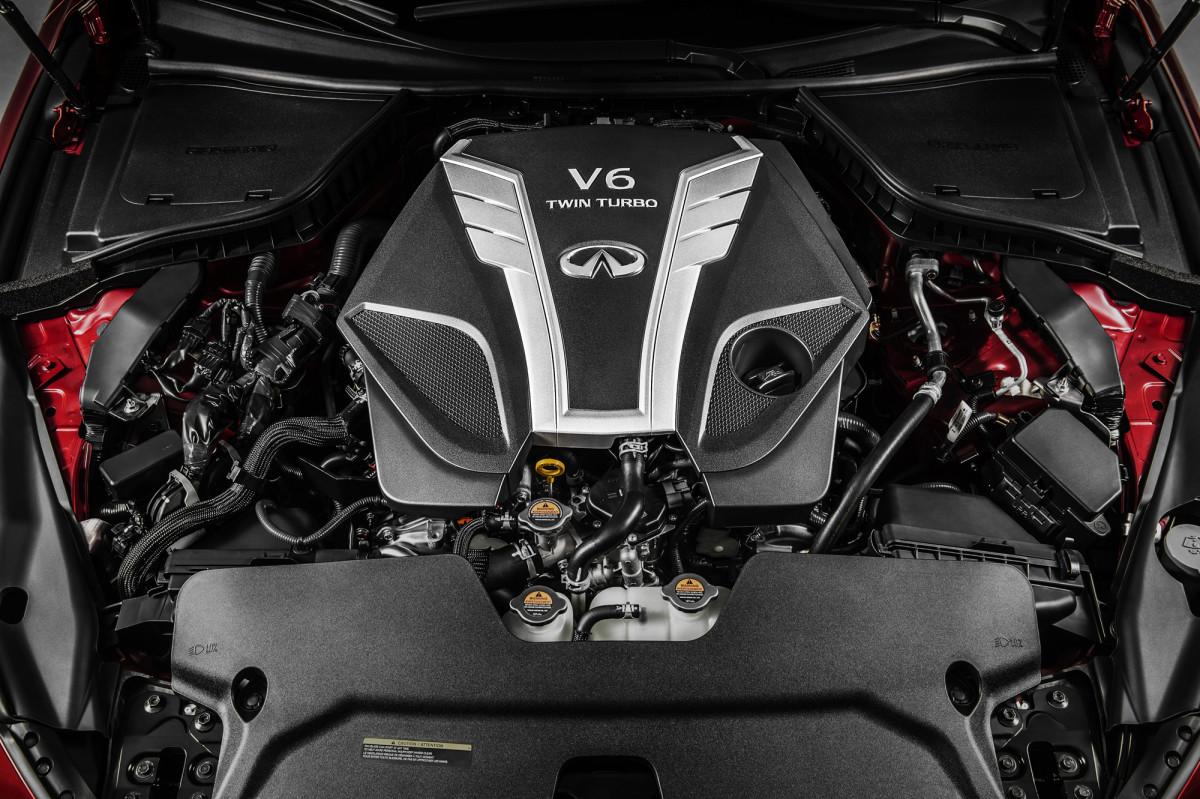 Infiniti twin-turbo 3.0 litri V6 in produzione