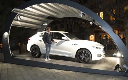 Maserati Levante si svela a Cortina e Courmayeur