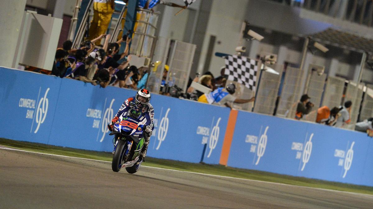 Lorenzo, Dovi e Marquez sul podio del Qatar