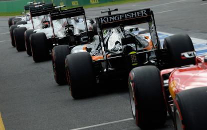 GP Ungheria: la griglia di partenza