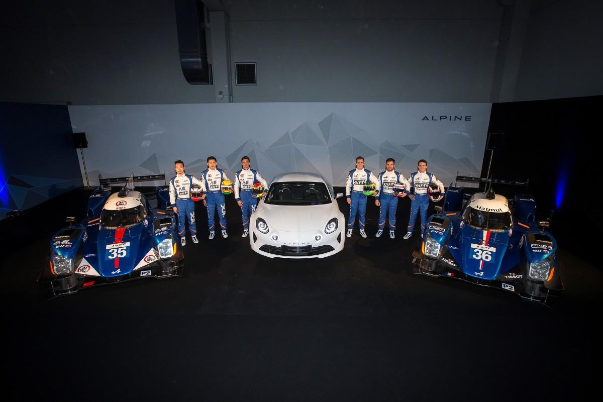 FIA WEC: ecco l'Alpine A460