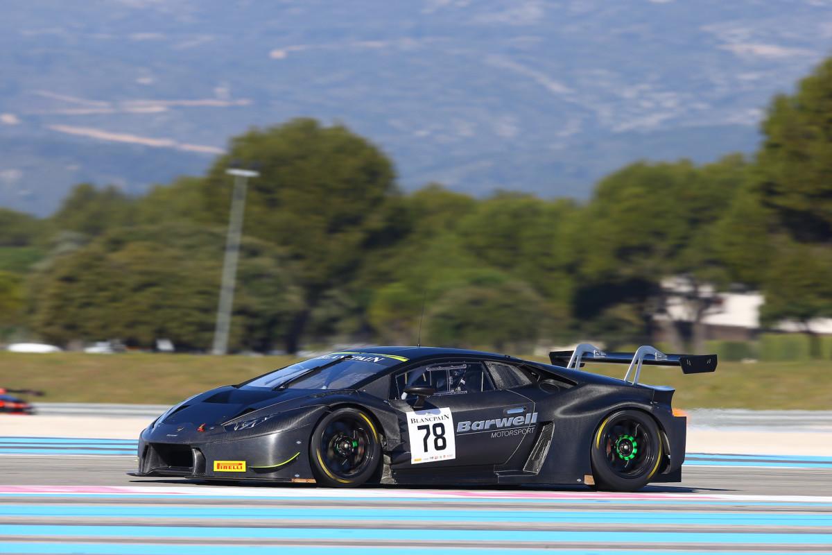 Lamborghini al top nei test al Paul Ricard