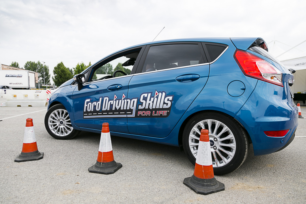 Ford lancia Driving Skills For Life 2016