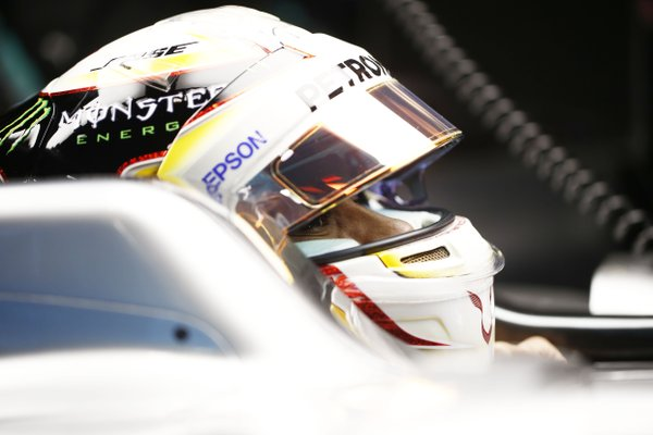 Hamilton fastest ahead of Kevin Magnussen