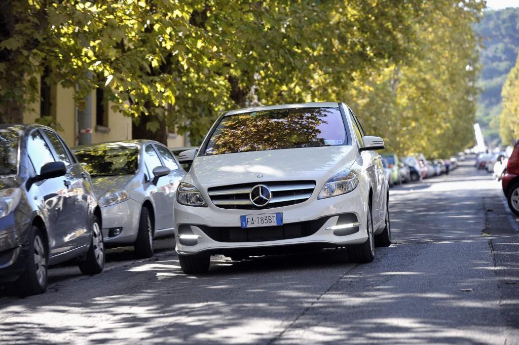 Classe B Electric Drive a noleggio a Roma e Milano