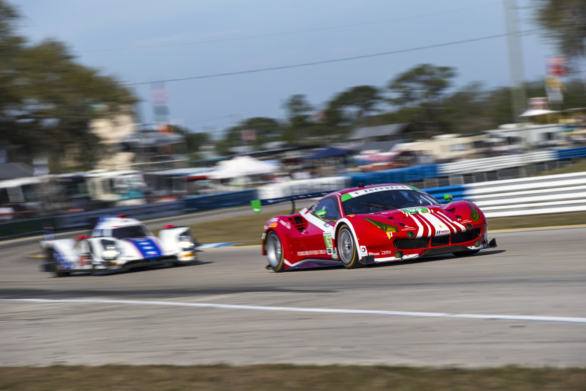 Debutto vincente per la 488 GT3 a Sebring
