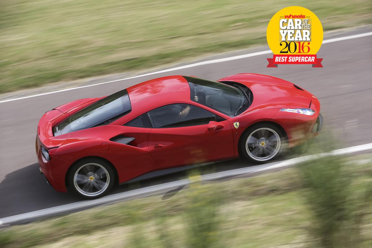 "Ferrari 488 GTB ""Best Supercar"""
