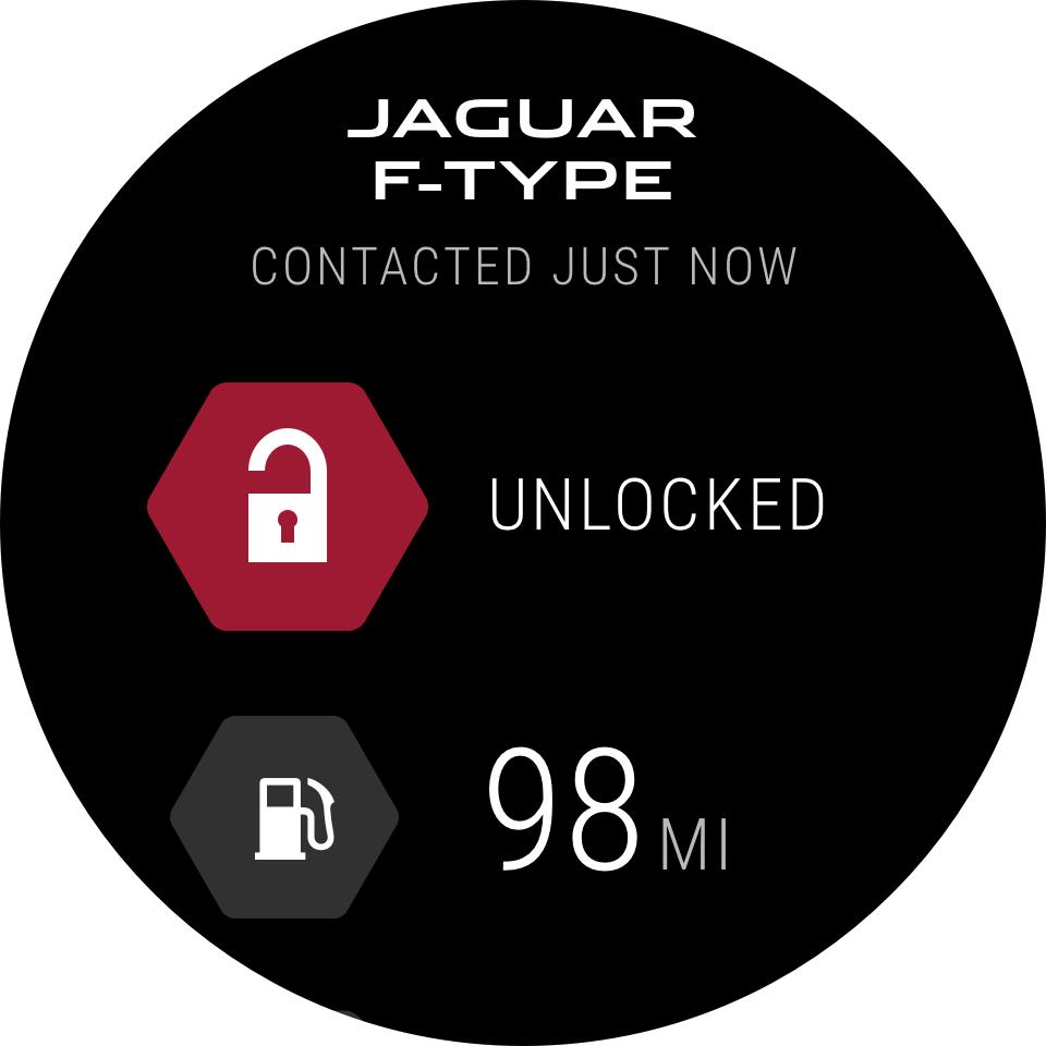 Nuova app Jaguar Land Rover per smartwatch