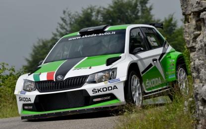 ŠKODA al via del Campionato Italiano Rally