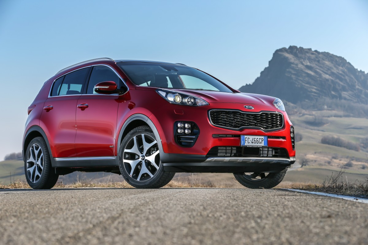 iF Design Awards a Kia Sportage e Optima