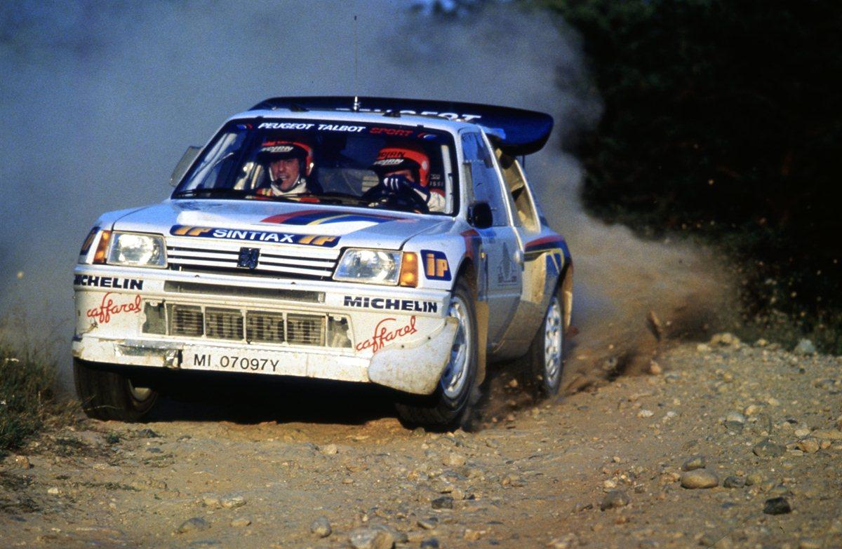 1986: inizia l'epopea della 205 Turbo 16 italiana