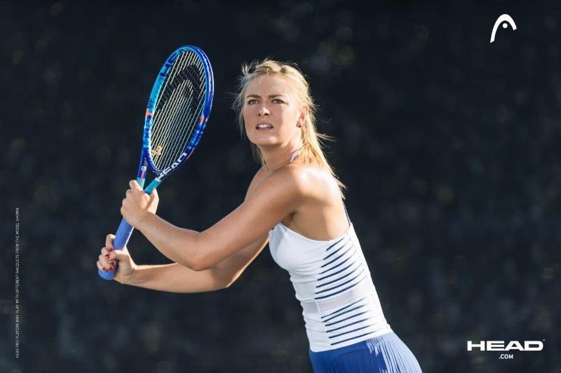 HEAD sulla questione doping-Sharapova