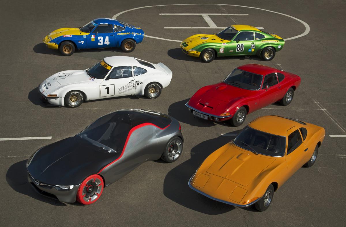 Techno Classica nel segno della Opel GT
