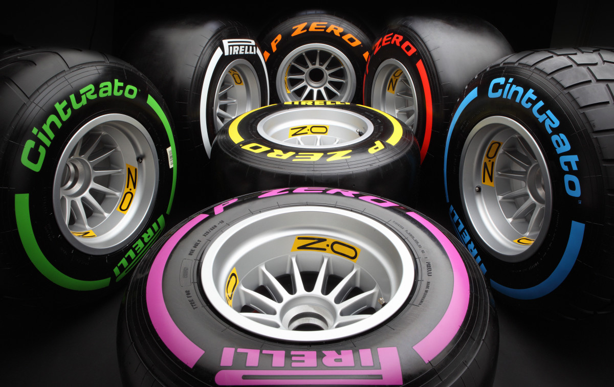 Pirelli in Formula 1 fino al 2019