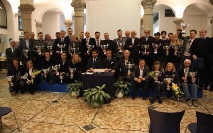 Premiazione degli sportivi AC Milano