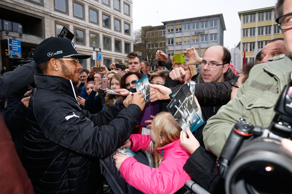 Mercedes motor racing family surprises fans