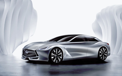 IF Design Award alla Infiniti Q80 Inspiration