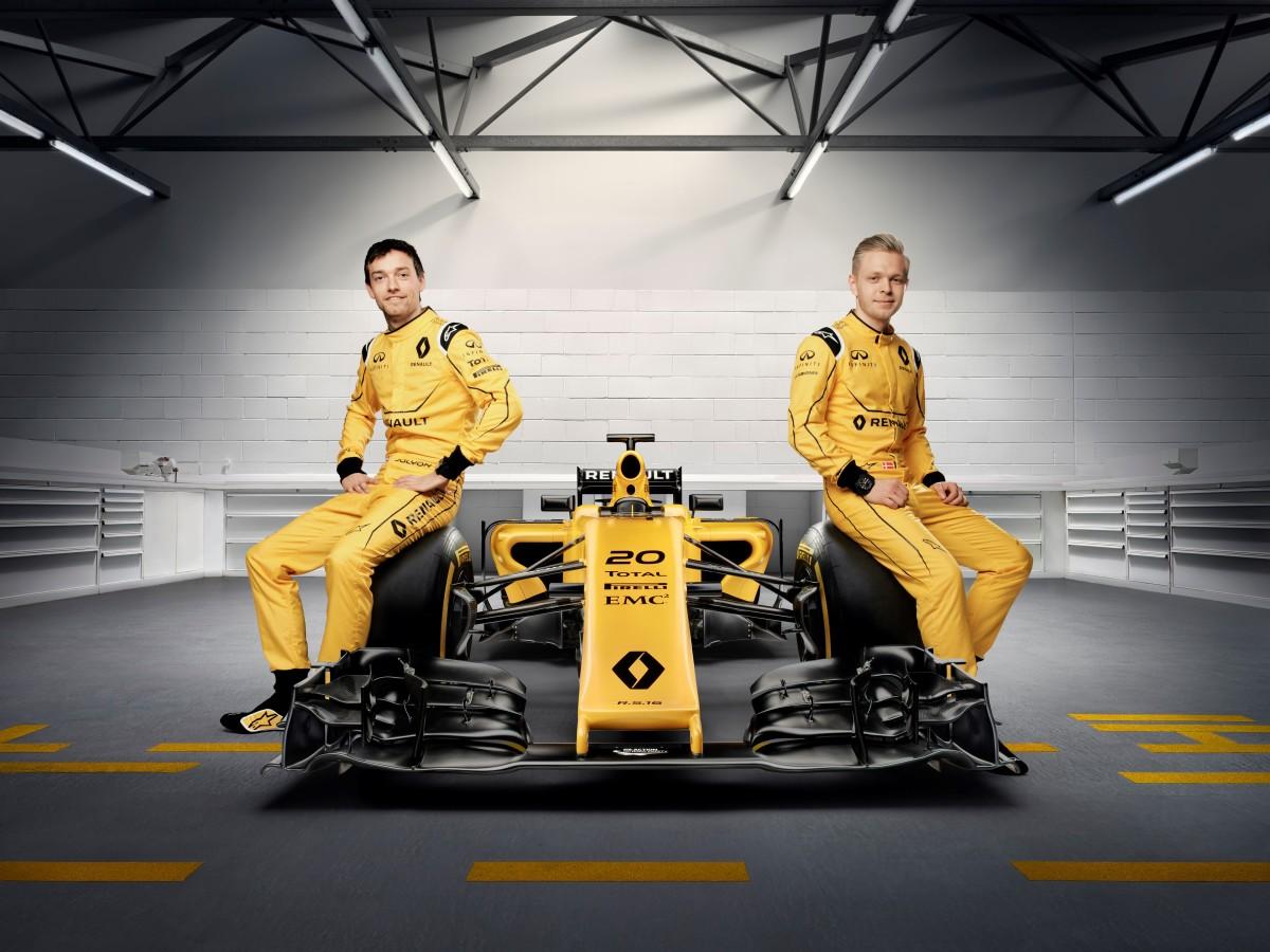 Renault F1: la livrea definitiva della R.S.16