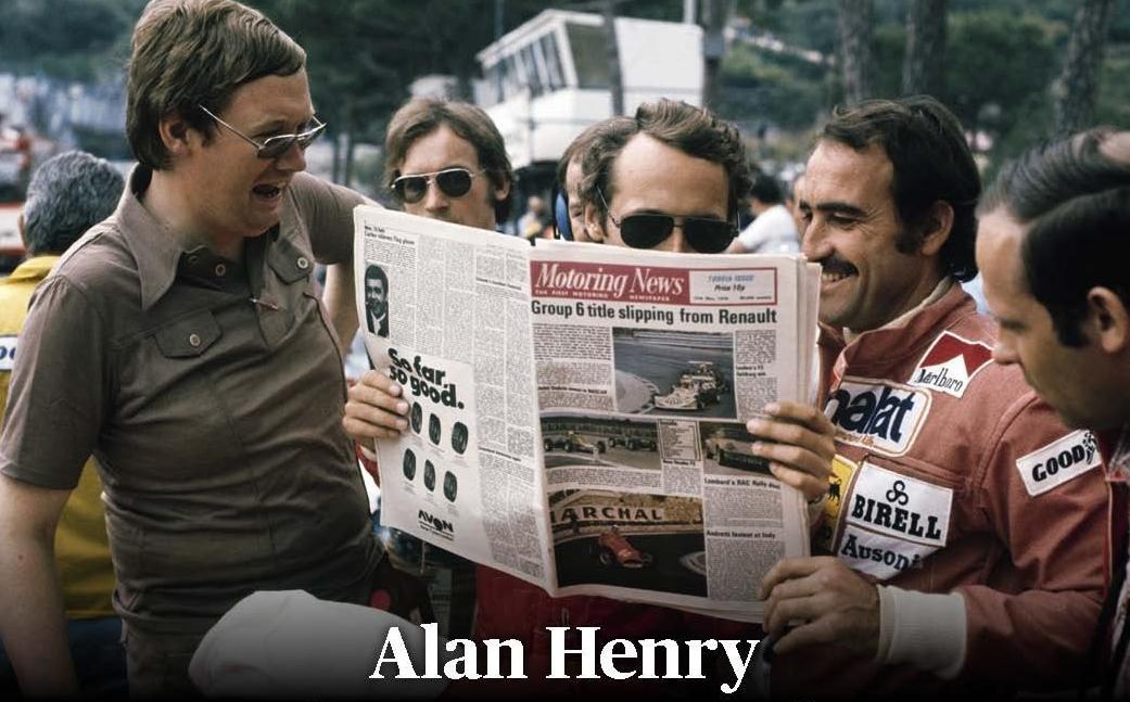 Alan Henry: se ne va un pezzo di F1 vera