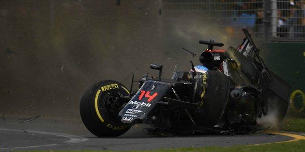 Alonso: uscito in fretta per tranquillizzare mamma