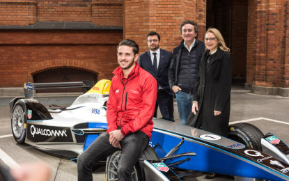 Formula E launches 2016 Berlin ePrix