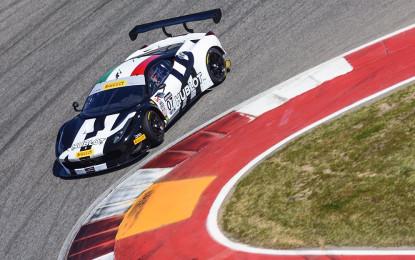 Una Ferrari al Pirelli World Challenge