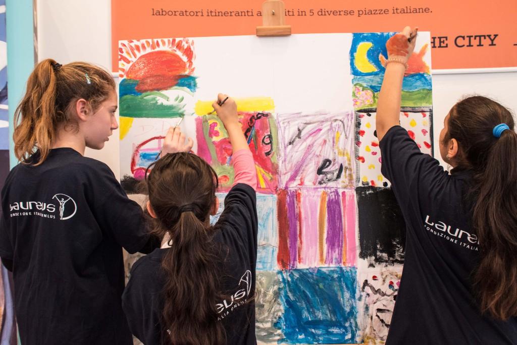 Anche i bambini di Laureus Italia a smartforkids
