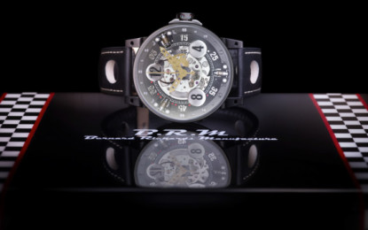 BRM Chronographes: a partnership with DS