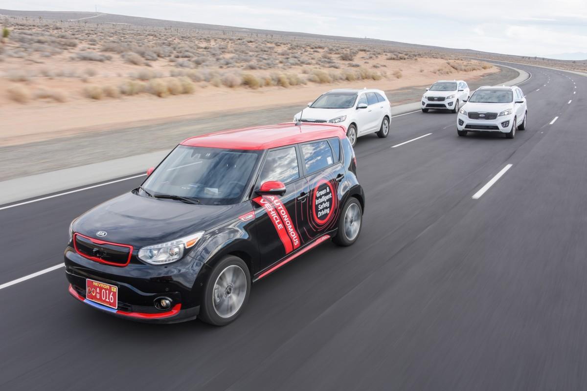 Kia DRIVE WISE, il futuro della guida autonoma