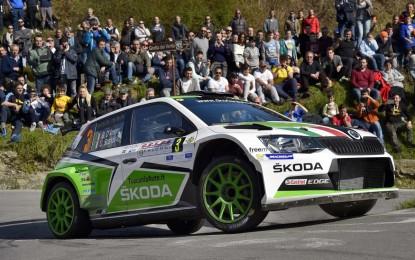 ŠKODA sul podio in Gara 2 al Ciocco