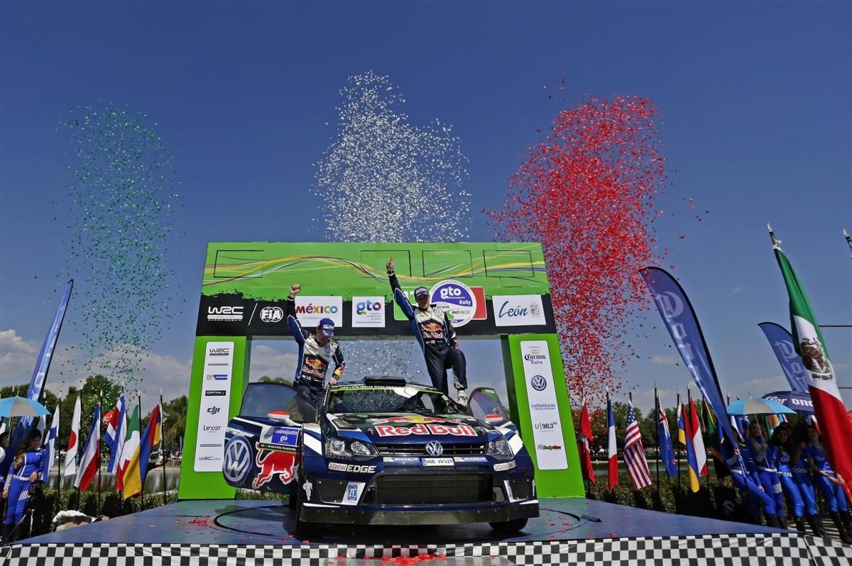Doppietta Volkswagen al Rally del Messico