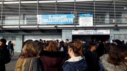 A Monza il Salone dello Studente. Peccato sia finito