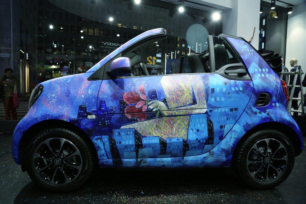 smartFORpeace: l'arte viaggia in smart