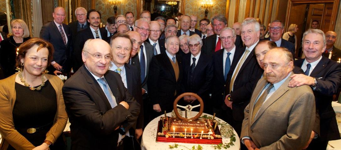 Jean Todt: festa per i suoi 50 anni nel motorsport
