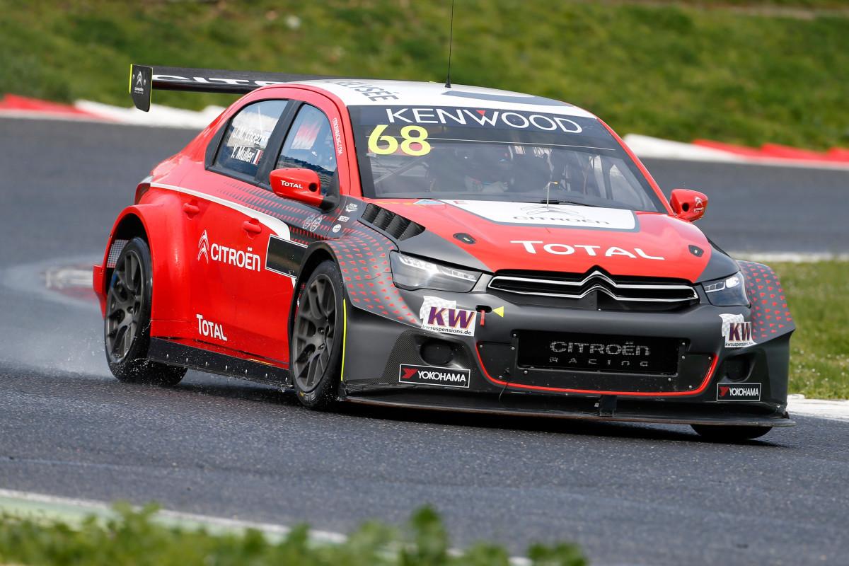 Citroën C-Elysée WTCC allo Slovakia Ring